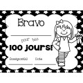 GRATUIT Certificats pour le 100e jour