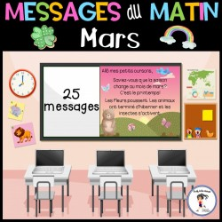 Messages du matin - Mars/Saint-Patrick