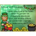 Messages du matin - Mars/Saint-Patrick
