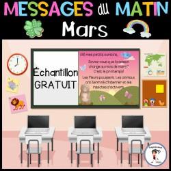 Messages du matin - Mars Échantillon GRATUIT