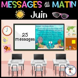 Messages du matin - Juin | Océan