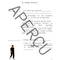 Schéma narratif - Notes trouées