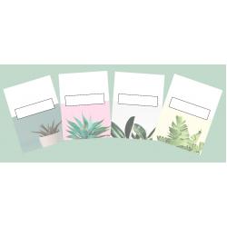 Couvertures cartables (Thème : Plantes)