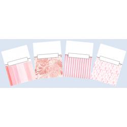Couvertures cartables (Thème : rose)