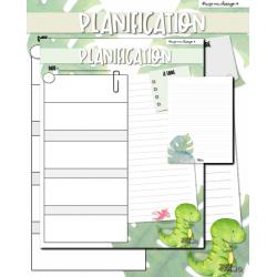 Canvas planification journalière (variés)