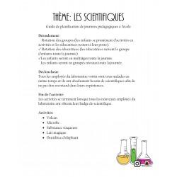 Journée pédagogique thème les scientifiques