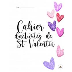 Cahier d'activités de la Saint-Valentin