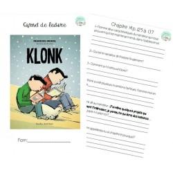 Carnet de lecture - Klonk #1