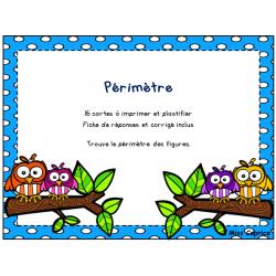 Périmètre - 2e cycle