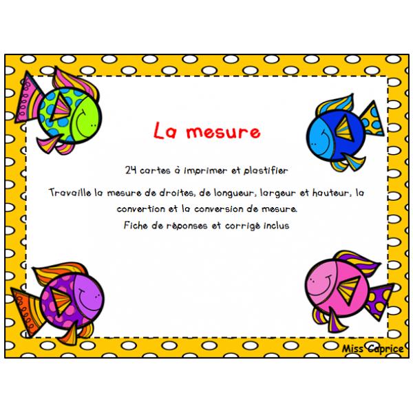 Mesure - 2e cycle