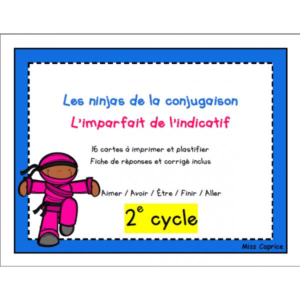 Ninjas de l'imparfait - 2e cycle