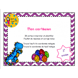 Plan cartésien - 2e cycle
