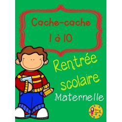 Cache-cache: Rentrée - Maternelle