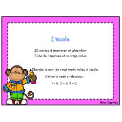 Code ABC: L'école