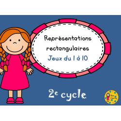 Représentations rectangulaires - 2e cycle