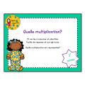Quelle multiplication? - 3e année
