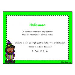 Code ABC: Halloween