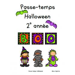 Passe-temps: Halloween - 2e année