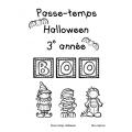 Passe-temps: Halloween - 3e année