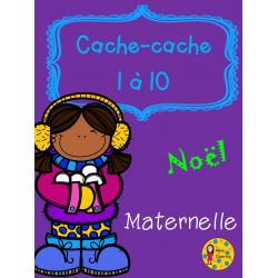 Cache-cache - Noël - Maternelle