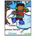 Passe-temps - Janvier - 1re année