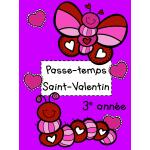Passe-temps St-Valentin - 3e année