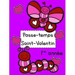 Passe-temps St-Valentin - 1re année
