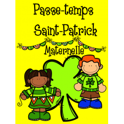 Passe-temps St-Patrick - Maternelle
