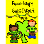 Passe-temps St-Patrick - 1re année