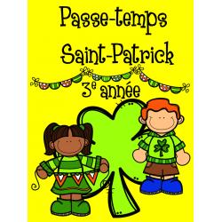 Passe-temps St-Patrick - 3e année
