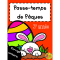 Passe-temps Pâques - 3e année