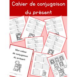 Cahier de conjugaison du présent