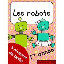 Les robots - 1re année