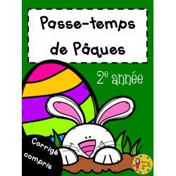 Passe-temps Pâques - 2e année