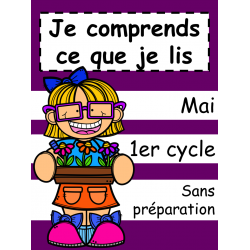 Je comprends ce que je lis - Mai - 1er cycle