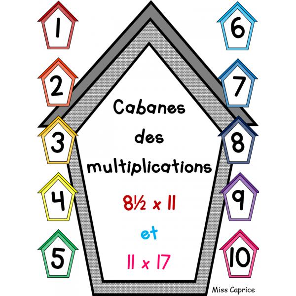 Cabanes des multiplications
