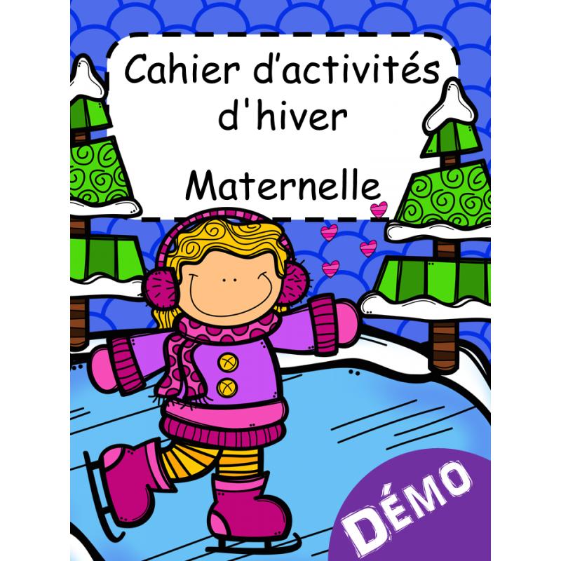 Cahier d 39 activit s d 39 hiver maternelle - Activite hiver maternelle ...
