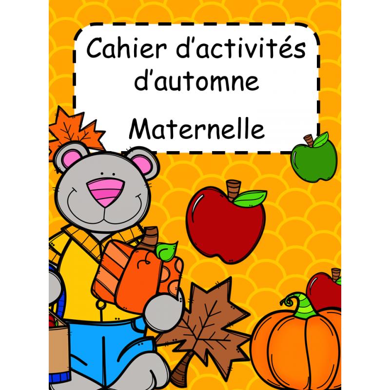 Cahier Dactivités Dautomne Maternelle