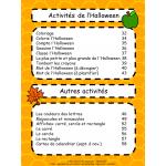 Cahier d'activités d'automne - Maternelle
