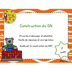 Construction du groupe du nom - 3e année