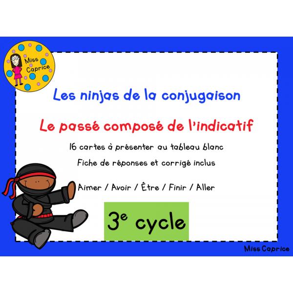 Ninjas du passé composé - 3e cycle