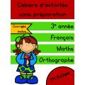 Cahiers de septembre - 3e année