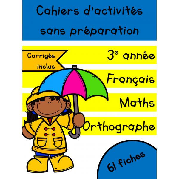 Cahiers d'avril - 3e année