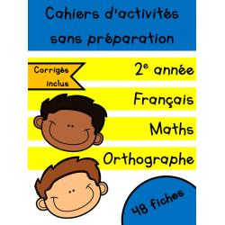 Cahiers d'avril - 2e année