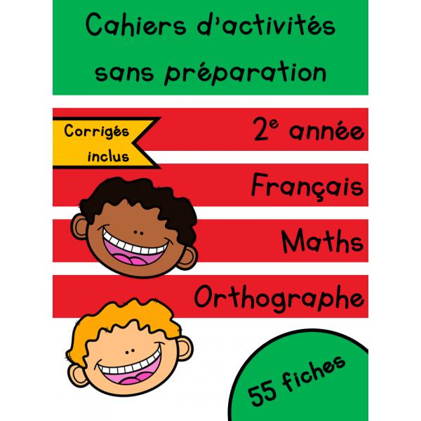 Cahiers de février - 2e année