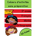Cahiers de janvier - 2e année