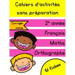 Cahiers de décembre - 2e année