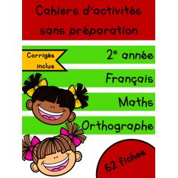 Cahiers de septembre - 2e année