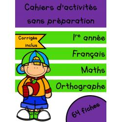 Cahiers Septembre - 1re année