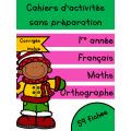 Cahiers Décembre - 1re année